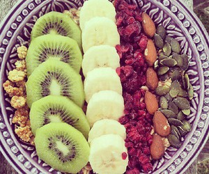 banana, bowl, and breakfast image