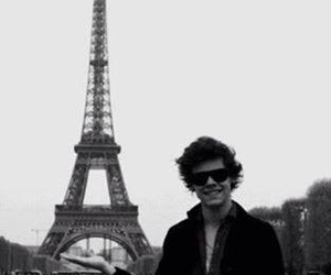 Harry Styles, paris, and one direction image