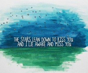 stars, quote, and kiss image