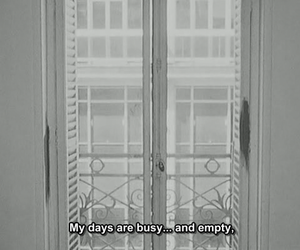 empty, busy, and quotes image