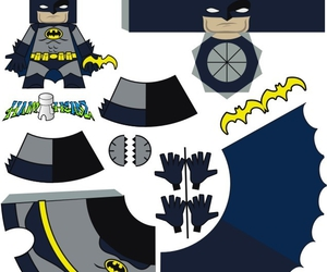 batman and paper craft image