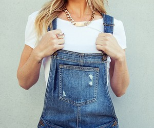 chain, denim, and dungarees image