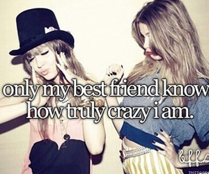 crazy, best friends, and fashion image