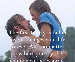 love story, the notebook, and love image