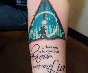 tattoo, harry potter, and hp image