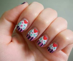 *-*, muffin, and nail image