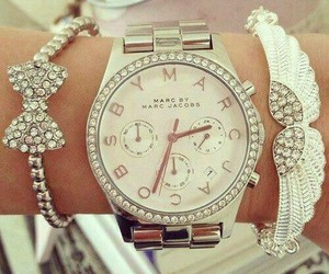 classy, girly, and watch image