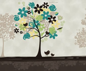 bird, Felicity, and tree image