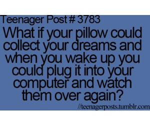 Dream, pillow, and teenager post image