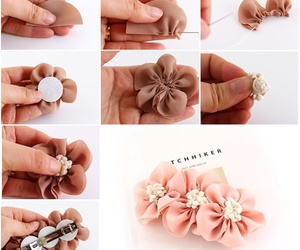 diy, hair accessory, and tutorial image
