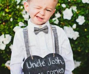 wedding, cute, and boy image