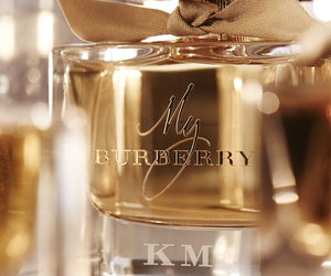 perfume, Burberry, and glamour image