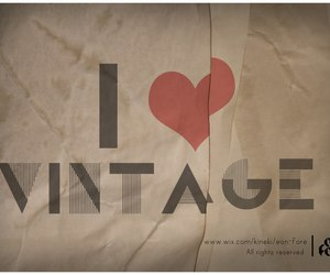 heart, i, and vintage image
