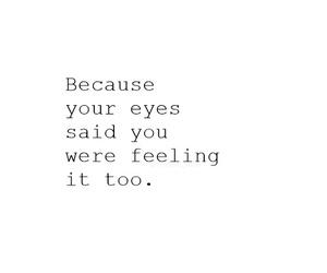 love, eyes, and feelings image