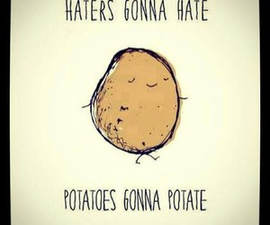 potato and cute image
