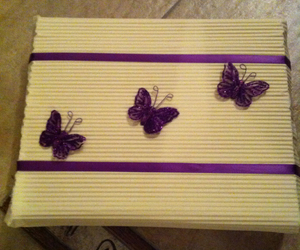 butterfly, diy, and wrapping image