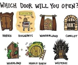 harry potter, lord of the rings, and narnia image