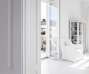 white, interior, and luxury image