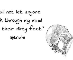 gandhi, happiness, and inspirational image