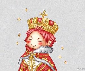 natsu, fairy tail, and king image