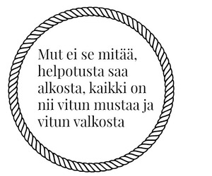 finnish, juju, and Lyrics image