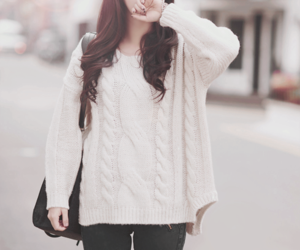 fashion, sweater, and ulzzang image