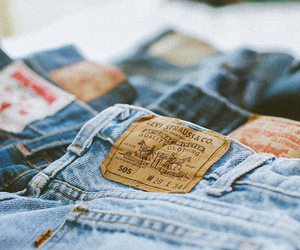 jeans, hipster, and blue image