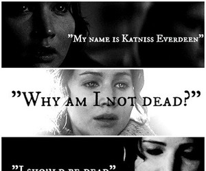 katniss everdeen, mockingjay, and quote image