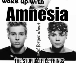 amnesia, michael clifford, and selfmade image