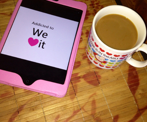 breakfast, coffee, and girly image