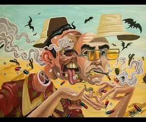 fear loathing book, hunter thompson drug, and las vegas gonzo image