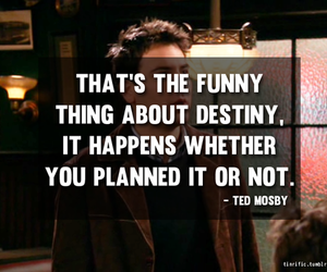 destiny, himym, and quote image