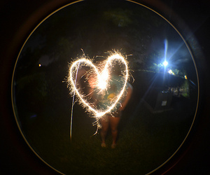 heart and photography image