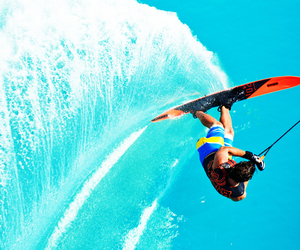 sport, water, and slalom image
