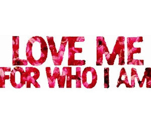 love, me, and quote image