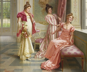 fashion, regency, and pastelle image