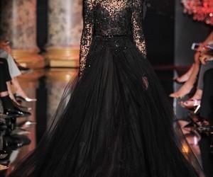 elie saab, dress, and fashion image
