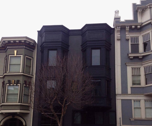 black, house, and grunge image