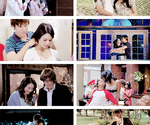 couple, disney, and HSM image