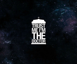 doctor who, tardis, and trust image