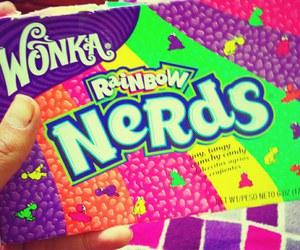 nerd, wonka, and candy image