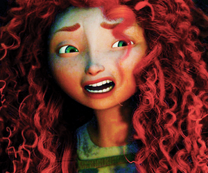 blue eyes, curls, and eyebrows image