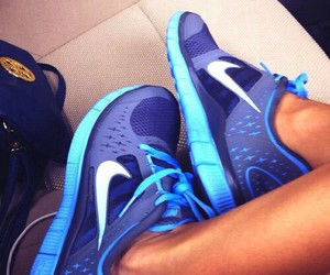 blue, shoes, and favorite image