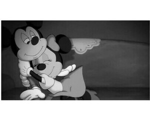 love, disney, and mickey mouse image