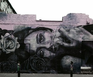 london, pastel, and roses image