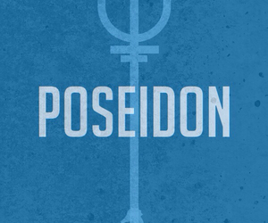 poseidon, percy jackson, and blue image