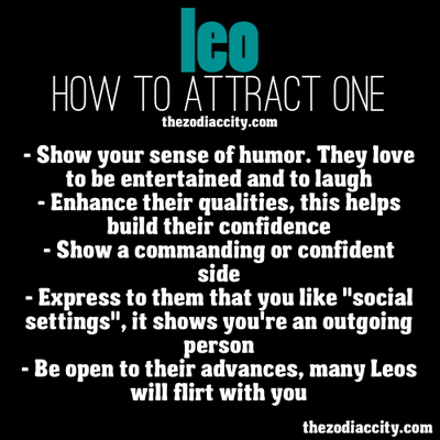 how to attract a leo girl