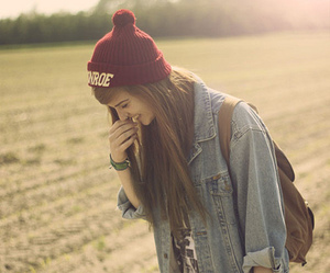girl, style, and smile image