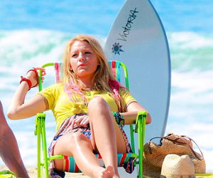 blake lively, beach, and savages image