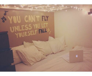 bedroom, room, and quote image